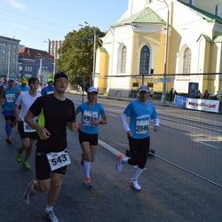 SEB Tallinna Maraton - Aarne Vasarik (543), Eve Talts (1933), Ranno Erala (2046)