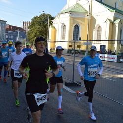 SEB Tallinna Maraton - Aarne Vasarik (543), Ranno Erala (2046)