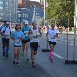 SEB Tallinna Maraton - Klaus Buehn (354), Annika Veimer (954), Gert Müürsepp (1269), Andrea Fiehring (1734)
