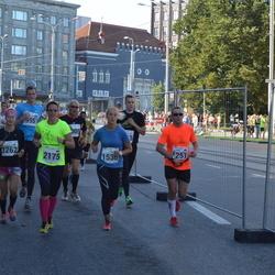 SEB Tallinna Maraton - Lauri Mänd (1251), Lotta Alaranta (1262), Karolin Lorents (1538), Anni Liukka (2175)