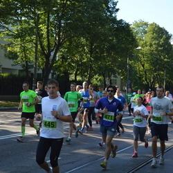 SEB Tallinna Maraton - Mart Salusaar (445), Arnaud Guiraud (471), Kaarel Koitne (580)