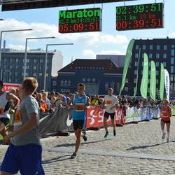 SEB Tallinna Maraton - Vladimir Vaher (20), Maie Kuusik (52), Aarne Nirk (57)