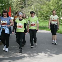 SEB Maijooks - Doris Liivak (3246), Siret Linde (3327), Monika Pikkoja (3328), Anna Pällin (3819), Margit Jalakas (4185), Helen Laasma (4654)