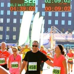 SEB Tallinna Maraton - Pasi Kettula (458), Anna Aakula (459), Tiina Voogne (2843)