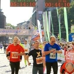 SEB Tallinna Maraton - Meelis Välk (1833), Brendan Peo (2099)