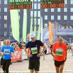 SEB Tallinna Maraton - Margo Tormet (939), Charles Christiansen (1388), Taaniel Mägi (2749)