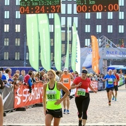 SEB Tallinna Maraton - Anita Karnit (371), Merilin Lillepuu (581)