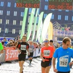 SEB Tallinna Maraton - Ann-Louise Engström (1138), Mihhail Kornõšev (1416)