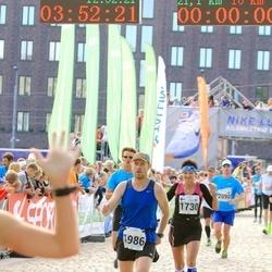 SEB Tallinna Maraton - Päivi Männistö (1730), Aare Huik (1986)