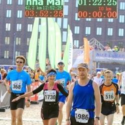 SEB Tallinna Maraton - Paavo Lambropoulos (368), Päivi Männistö (1730), Aare Huik (1986)