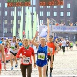 SEB Tallinna Maraton - Agu Lehemaa (85), Mariliis Palits (799)