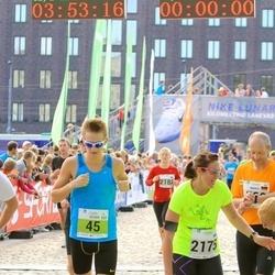 SEB Tallinna Maraton - Oliver Mändla (45), Anni Liukka (2175)