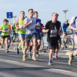 SEB Tallinna Maraton - Veikko Punkka (123), Ahti Männik (143), Arnaud Picut (847)