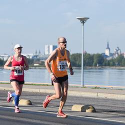 SEB Tallinna Maraton - Annika Vaher (108), Richard Varaine (137)
