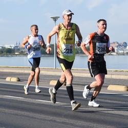 SEB Tallinna Maraton - Andris Leja (228), Aigars Varna (238), Marek Mustonen (349)