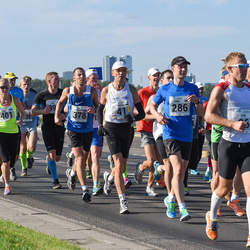 SEB Tallinna Maraton - Konstantin Bondarenko (378), Brit Rammul (401)