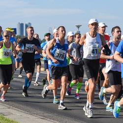 SEB Tallinna Maraton - Toomas Toom (41), Konstantin Bondarenko (378), Siim Õunloo (397), Brit Rammul (401)