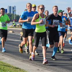 SEB Tallinna Maraton - Siim Õunloo (397), Brit Rammul (401), Armin Allmäe (476)