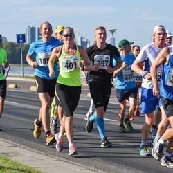 SEB Tallinna Maraton - Konstantin Bondarenko (378), Siim Õunloo (397), Brit Rammul (401), Armin Allmäe (476)