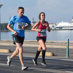 SEB Tallinna Maraton - Urmas Veersalu (768), Birgitti Pilvet (2079)