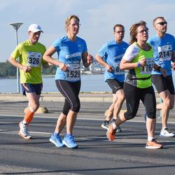 SEB Tallinna Maraton - Ando Kangur (326), Karin Sangla (1529)