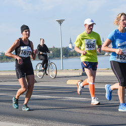 SEB Tallinna Maraton - Ando Kangur (326), Karin Sangla (1529), Ülle Kummer-Leman (1672)