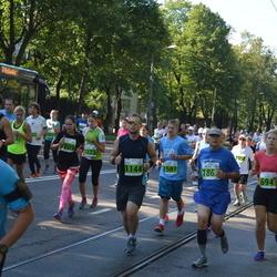 SEB Tallinna Maraton - Agnese Maskalane (694), Alan Teder (1144), Toomas Veskimäe (1587)