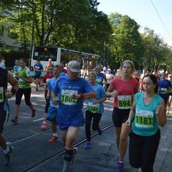 SEB Tallinna Maraton - Agnese Maskalane (694), Alan Teder (1144), Jana Trunina (1181), Michel Raineri (1862)