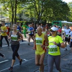 SEB Tallinna Maraton - Anna Penne (1248), Anna Semiánová (1310), Gottfried Schäfers (2376), Eike Sild-Neeme (2966)