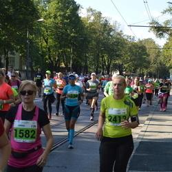 SEB Tallinna Maraton - Anna-Kristiina Topinoja (1582), Heli Niemi (2413)