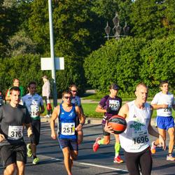SEB Tallinna Maraton - Andre Abner (251), Mirjo Koit (1696)