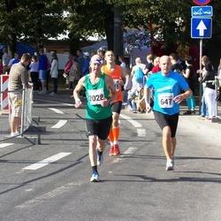 SEB Tallinna Maraton - Aleksandrs Grotus (647), Janne Sarkeala (2028)