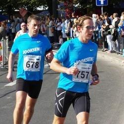 SEB Tallinna Maraton - Arno Sibul (678), Kimmo Karppinen (757)