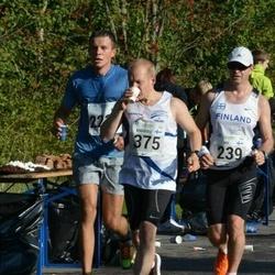 SEB Tallinna Maraton - Ari Kilpinen (239), Markku Salo (375)
