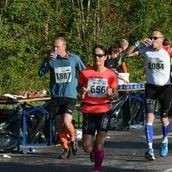 SEB Tallinna Maraton - Annika Lundström-Nygård (656), Madis Reinumägi (1887), Terho Torssonen (2084)
