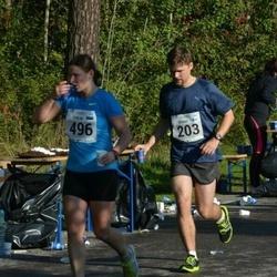 SEB Tallinna Maraton - Benno Ridala (203), Evelin Pellenen (496)