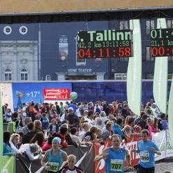 SEB Tallinna Maraton - Urmas Tuvikene (707), Anna Kravchenko (945), Marti Tutt (1890)