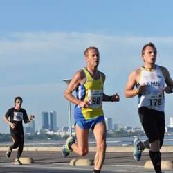 SEB Tallinna Maraton - Arnold Laasu (98), Mantas Drulia (178)