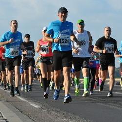 SEB Tallinna Maraton - Adriaan Hobo (819), Olev Kitvel (1528), Pavel Vialichka (1704)