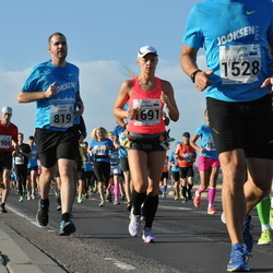 SEB Tallinna Maraton - Adriaan Hobo (819), Katrena Tenno (1691)