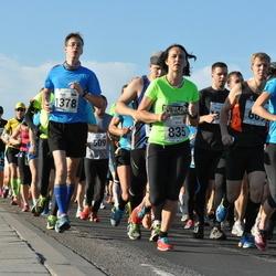 SEB Tallinna Maraton - Caisa-Merili Mõik (834), Evija Grinberga (835), Jaan Lehismets (1378)