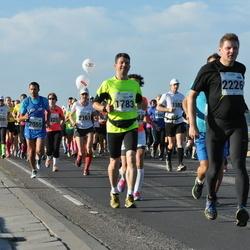 SEB Tallinna Maraton - Arles Taal (1783), Claudio Romani (2055), Kaur Virunurm (2226)