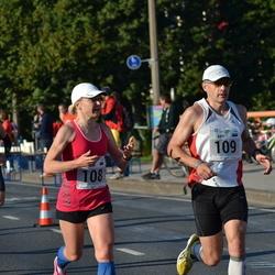 SEB Tallinna Maraton - Annika Vaher (108), Anti Toplaan (109)