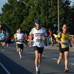SEB Tallinna Maraton - Ivo Vahtramäe (220), Artur Rauhiainen (1950)