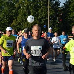 SEB Tallinna Maraton - Ando Kangur (326), Henri Johanson (1756), Madis Ennuste (2119)