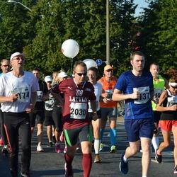 SEB Tallinna Maraton - Artis Drezinš (2030), Jaanus Peets (2137)