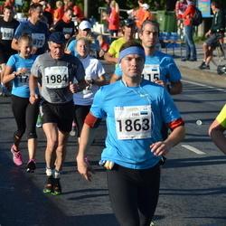 SEB Tallinna Maraton - Erki Veiko (1863), Aarne Kell (1984)