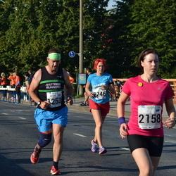 SEB Tallinna Maraton - Julian Buss (1253), Agnese Bahmane (2158)