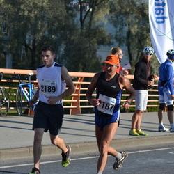 SEB Tallinna Maraton - Iurii Prosviriakov (2187), Artsemi Kalahryu (2189)