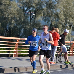 SEB Tallinna Maraton - Alexander Tikhonov (839), Indrek Kesperi (2245)